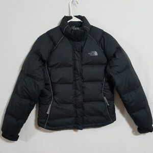 North Face Womens Black Small Down Puffer Jacket S